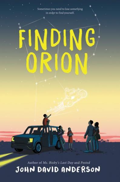 Finding Orion cover